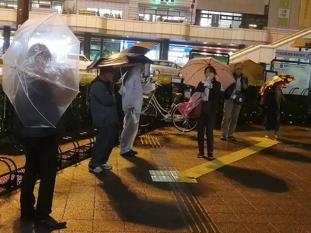 台風19号が去ってまた雨。394回目のタカキン。