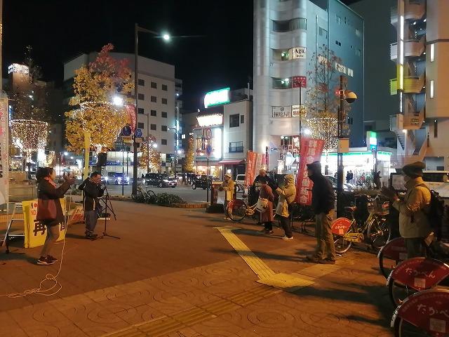 12月。街はクリスマスモード。