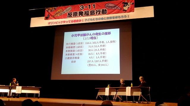 3・11反原発福島行動に参加