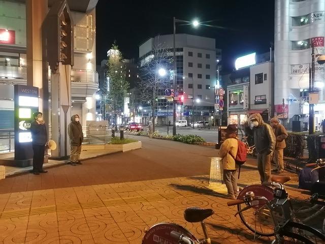 緊急事態宣言下の高崎金曜日行動